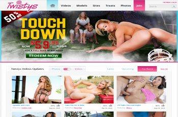 Twistys porno canale nudo College modelli